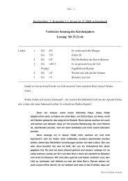 Predigt über 2 Korinther 5 am 16.11.2008