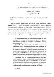 Predigt über Lukas 15,1-10 am 10.07.2011 in Ittersbach 3. Sonntag ...