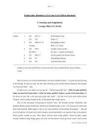 Predigt über Matthäus 3,13-17 am 11.01.2009 in Ittersbach 1 ...