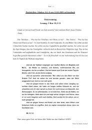 Predigt über Markus 16 am 12.04.2009 (Ostersonntag)