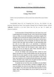 Predigt über Johannes 19 am 10.04.2009 (Karfreitag)