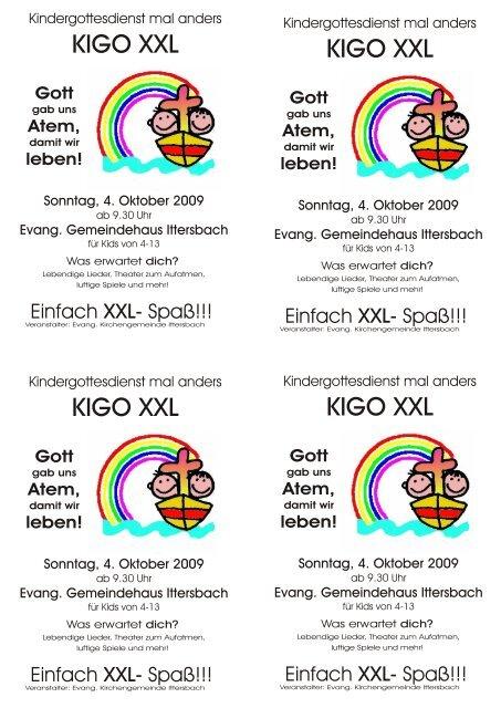 KIGO XXL KIGO XXL KIGO XXL KIGO XXL - Evangelische ...