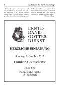 EinBlick Nr 62, September 2013 - Evangelische Kirchengemeinde ... - Seite 6