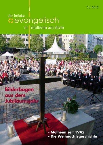 Bilderbogen aus dem Jubiläumsjahr - Evangelische ...