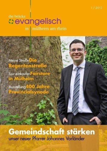 Gemeindschaft stärken - Evangelische Kirchengemeinde Mülheim ...