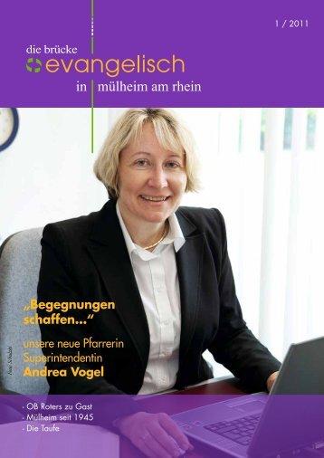 Begegnungen schaffen... - Evangelische Kirchengemeinde Mülheim ...