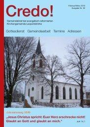 Gottesdienst | Gemeindearbeit | Termine | Adressen | - Evangelisch ...