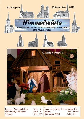 """""""Himmelwärts"""" Weihanchten 2009 - Katholischer Seelsorgebereich ..."""