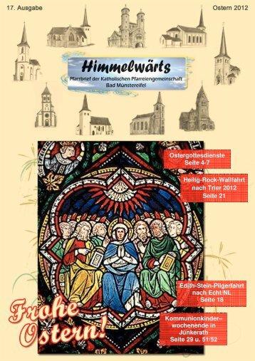 """""""Himmelwärts"""" Ostern 2012 - Katholischer Seelsorgebereich Bad ..."""