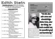 Gedenkjahr Edith Stein - Kirche-niedergrenzebach.de