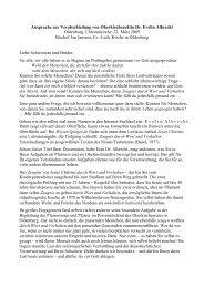 Ansprache zur Verabschiedung von Oberkirchenrätin Dr. Evelin ...