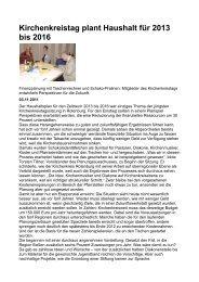 Kirchenkreistag November 2011.pdf - Kirchenkreis Rotenburg