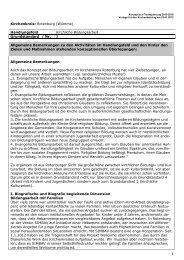FAG Musterkonzept - Kirchenkreis Rotenburg