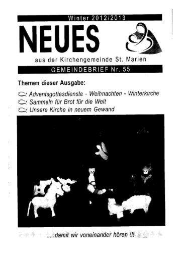 Gemeindebrief 2012 IV Cover - kirche-scharnebeck.de
