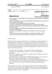 Süderhastedt Lieder : 17, 1; 1, 1 - 5; 3, 1 - hier