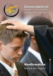 MITTENDRIN 1-2012 - Portal Kirche-Uelzen.de