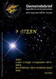 Mittendrin - 2011-4 - ohne pers Daten.cdr - Portal Kirche-Uelzen.de