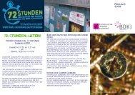 72-Stunden-Aktion - Bistum Essen