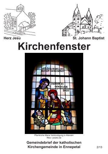 Kirchenfenster - Bistum Essen