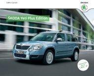Åkoda Yeti Plus Edition Katalog inkl. Preise ... - DHT Automobile
