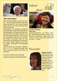 Dekanatsforum BB-online 01-13 - KircheBB