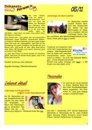 Dekanatsforum BB-online 05-11 - KircheBB