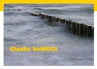 Glaube beWEGt - Das Postkartenheft - KircheBB