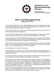 Wir vermieten (PDF) - KircheBB