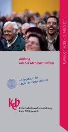 KursB uch 2013 – 2. H albjahr - KircheBB