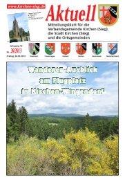 Aktuelles Mitteilungsblatt 26/2013 - Verbandsgemeinde Kirchen, Sieg