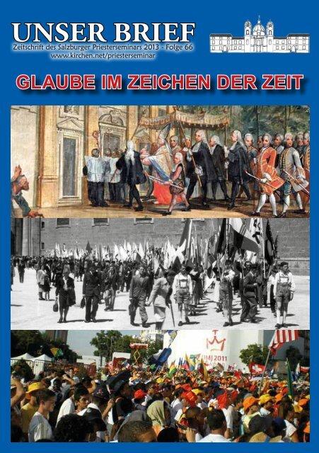 Unser Brief 2013 - Erzdiözese Salzburg