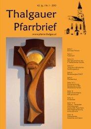 Pfarrausflug 2013 - Erzdiözese Salzburg
