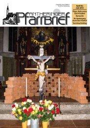 April bis Juni 2013 - Erzdiözese Salzburg