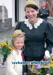 pfarrbrief Herbst 2011 - Erzdiözese Salzburg