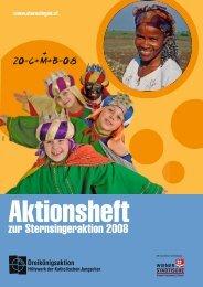 zur Sternsingeraktion 2008