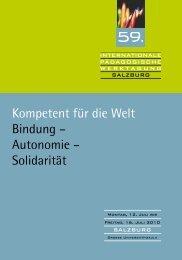 Programm IPWT 2010 - Erzdiözese Salzburg