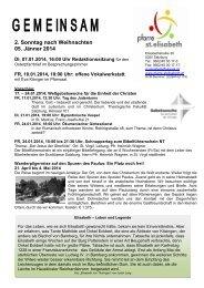 Gemeinsam - Erzdiözese Salzburg