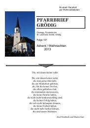 An einen Haushalt - Erzdiözese Salzburg