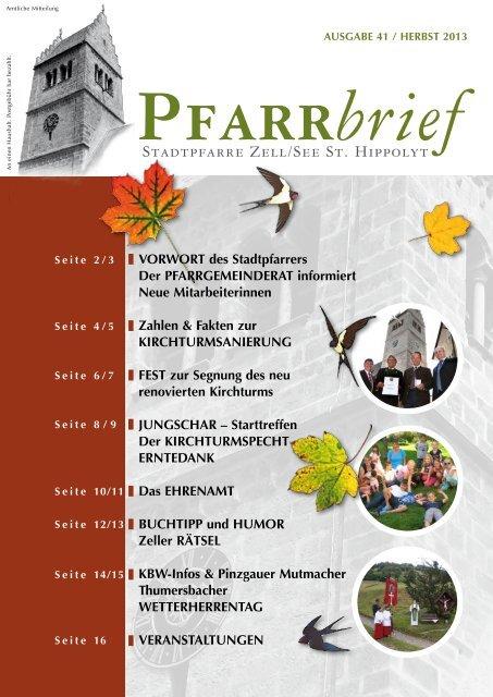 STADTPFARRE ZELL/SEE ST. HIPPOLYT - Erzdiözese Salzburg