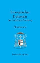 Liturgischer Kalender - Erzdiözese Salzburg