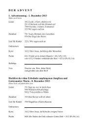 1. Dezember 2013 - Erzdiözese Salzburg