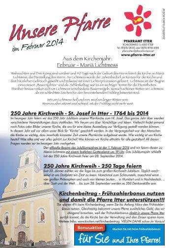 """Unsere Pfarre"" im Februar 2014"
