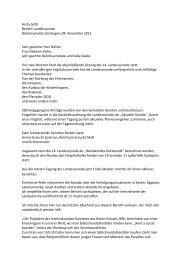 der Bericht von Landessynodale Anita Gröh - Evangelischer ...
