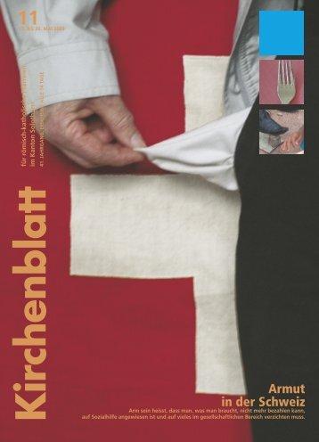 Armut in der Schweiz - Kirchenblatt