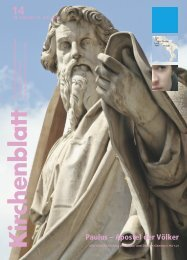 Paulus – Apostel der Völker - Kirchenblatt