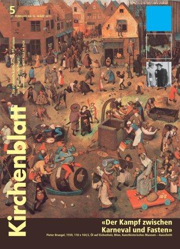 27. Februar bis 12. März 2011 - Kirchenblatt