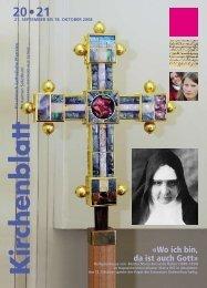21. september bis 18. oktober 2008 - Kirchenblatt
