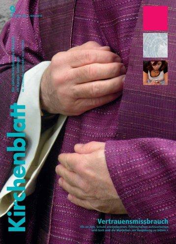 Vertrauensmissbrauch - Kirchenblatt