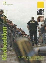 15. BIS 28. JUNI 2008 - Kirchenblatt