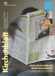 Kirche, Kirchenbild und Medienmechanismen - Kirchenblatt
